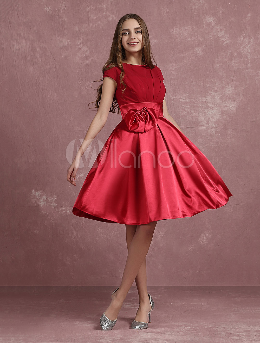Very Short Red Prom Dress