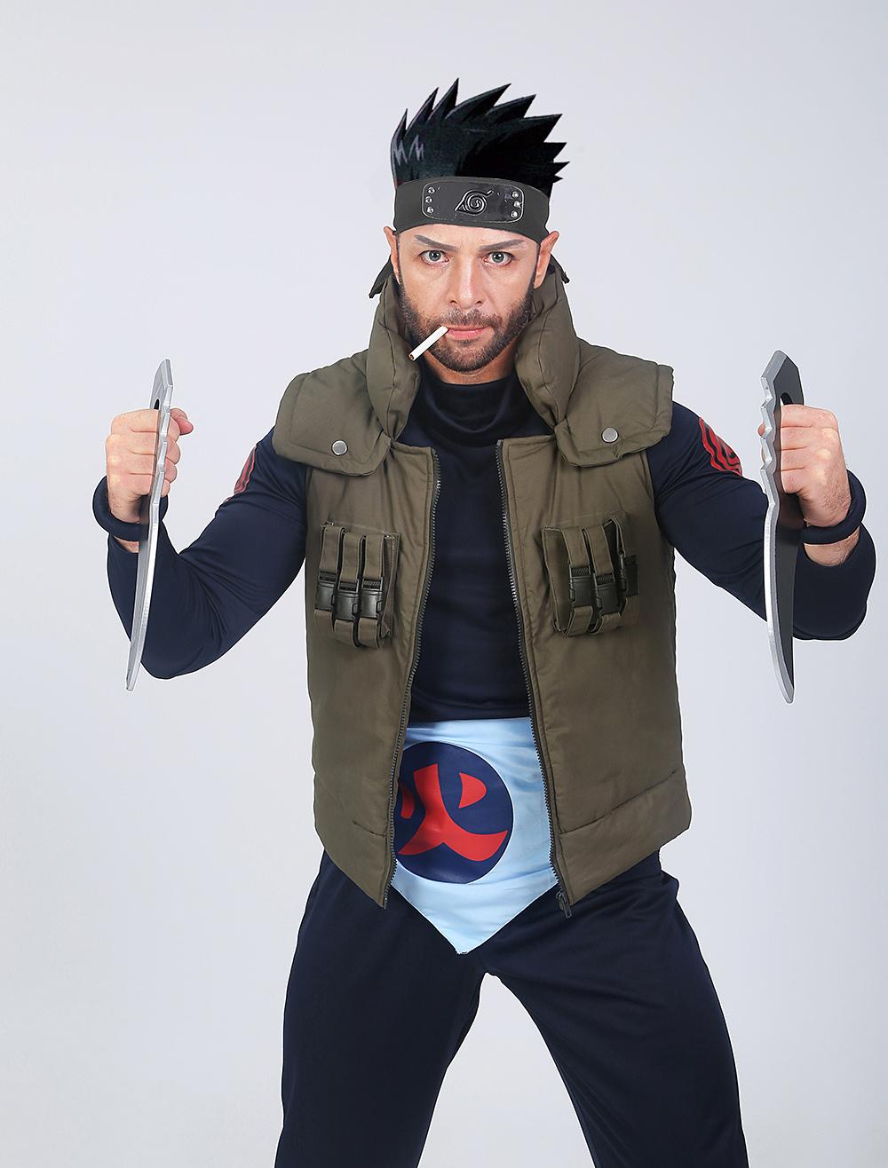 Naruto Sarutobi Asuma Halloween Cosplay Costume Milanoo Com
