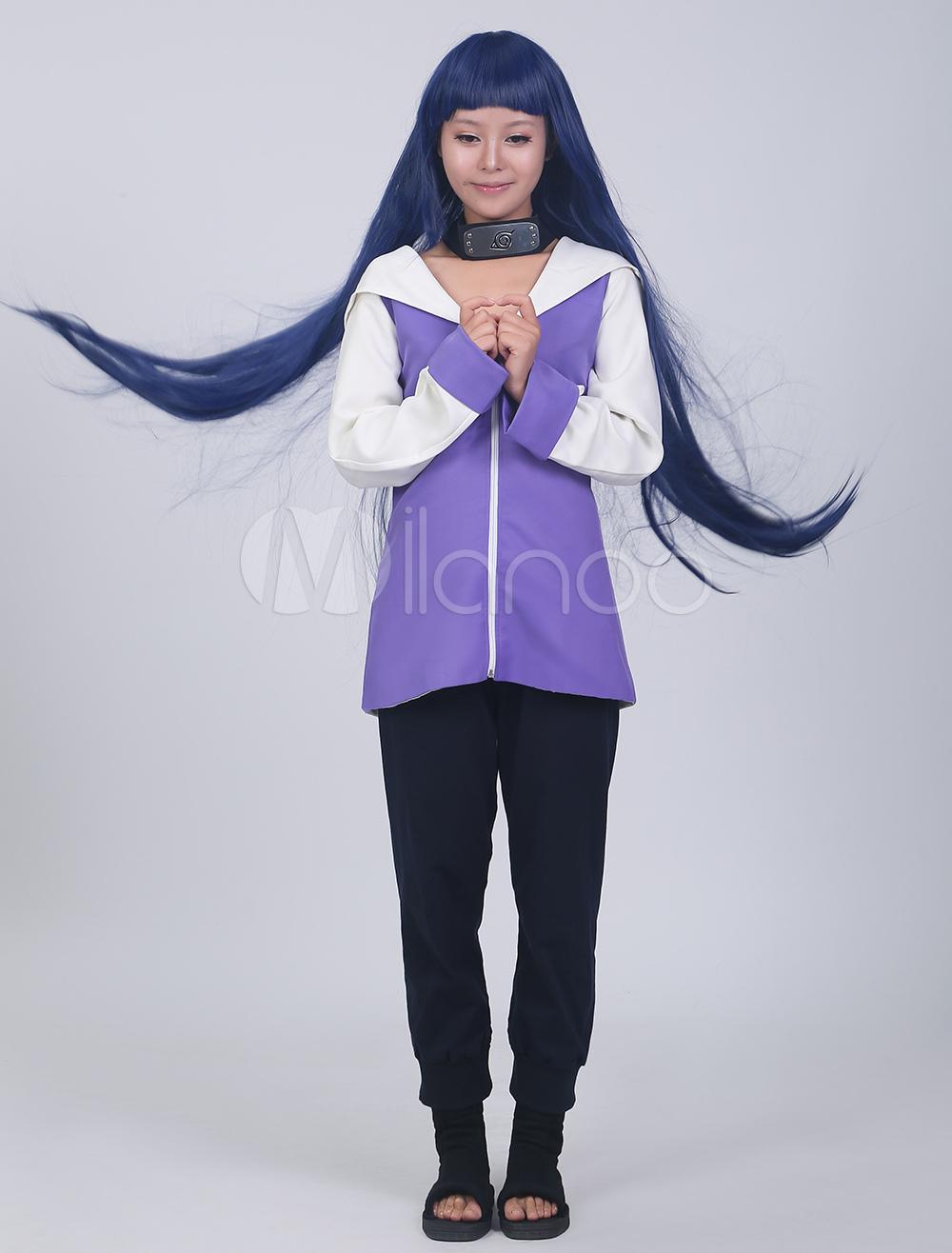 Naruto Hyuuga Hinata Cosplay Costume Halloween