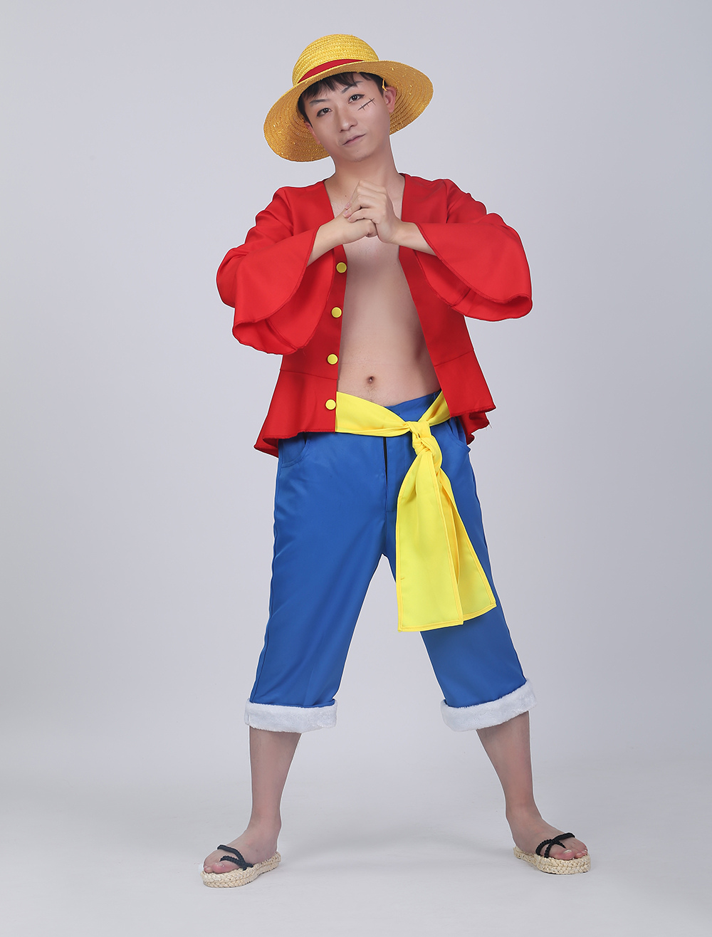 one piece luffy cosplay costume halloween. Black Bedroom Furniture Sets. Home Design Ideas