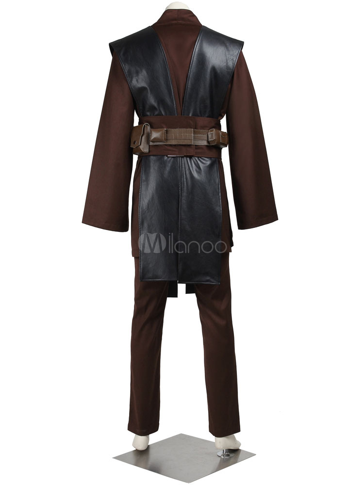 star wars jedi knight anakin skywalker halloween cosplay costume no4