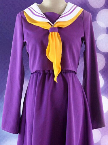 No Game No Life Shiro Cosplay Costume School Uniform Halloween