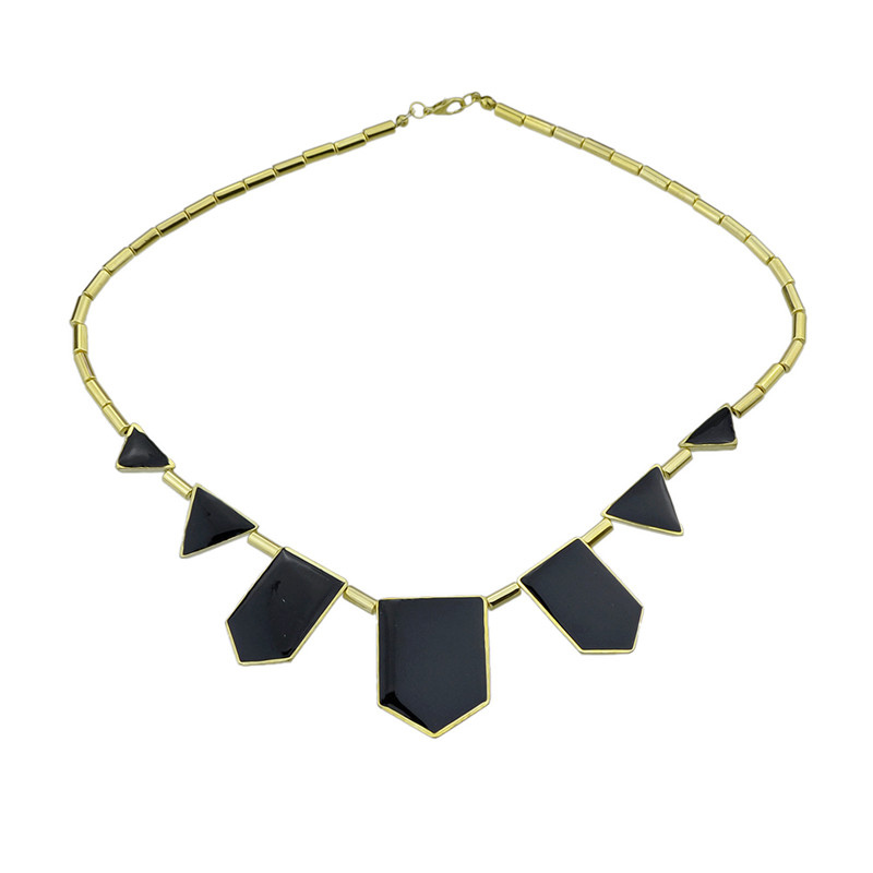 Buy Geometric Statement Necklace Chic Women's Necklace for $4.99 in Milanoo store