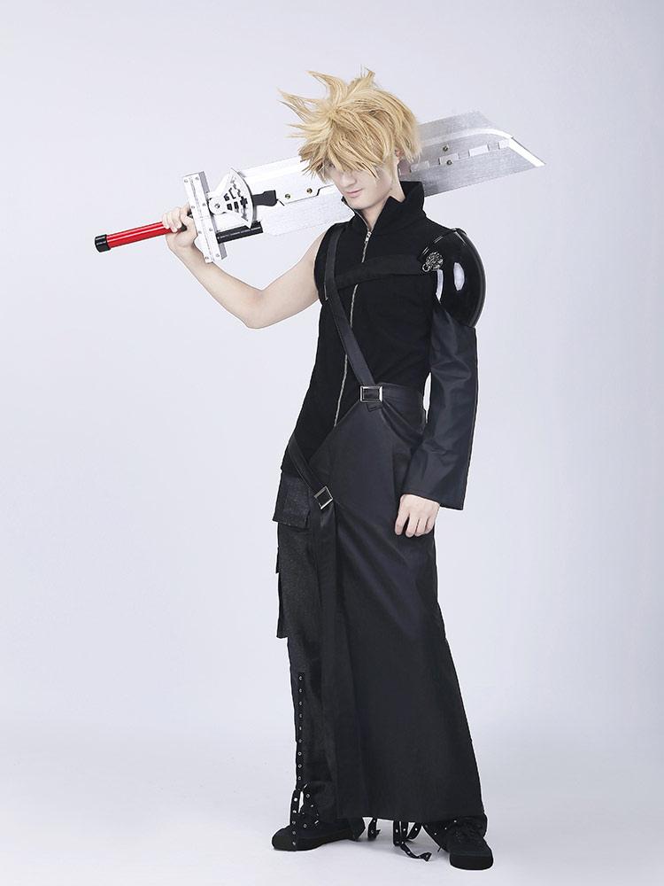 Final Fantasy VII Cloud Halloween Cosplay Costume Halloween