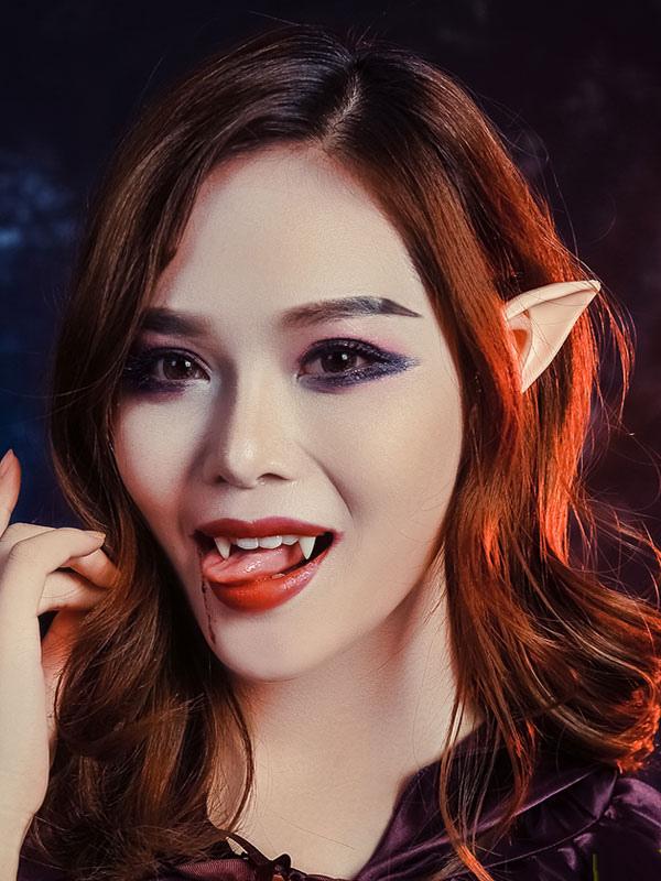 Buy Halloween False Teeth Vampire Scary Costume Party Prop Decoration Fake Teeth Halloween for $4.99 in Milanoo store