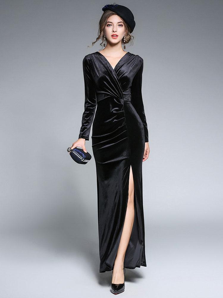 Extra lange maxi kleider