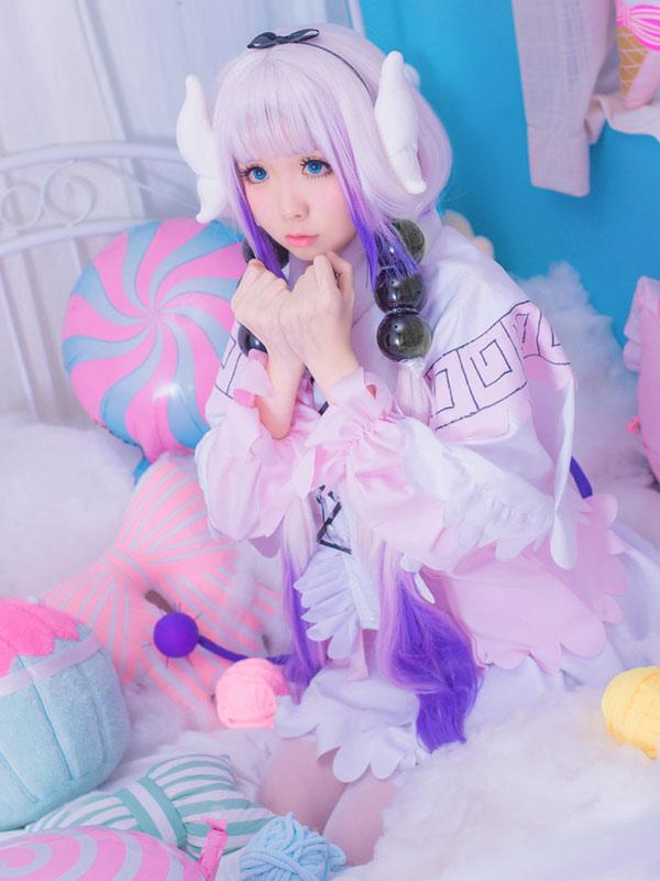 Miss Kobayashi/'s Dragon Maid Kamui Kanna Swimwear Bathing Suit Cosplay Costumes