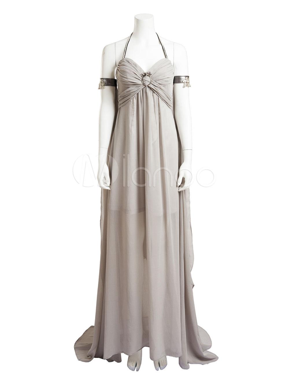 Game Of Thrones Halloween Khaleesi Daenerys Targaryen Cosplay Costume Halloween