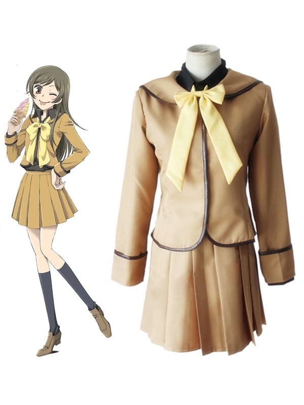 Kamisama Kiss Momozono Nanami Cosplay Costume School Uniform Halloween