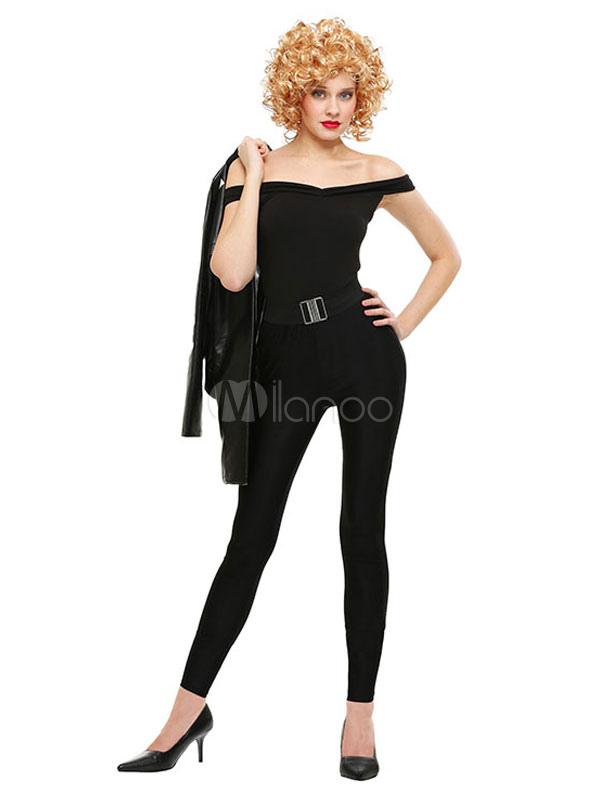 Halloween Y Negro Fajín Pitillo Disfraz Mujer Top De Para Con Pantalón YeIDE29WH