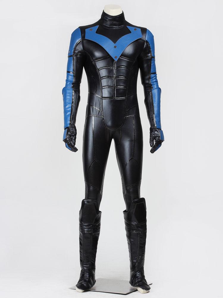 Batman Arkham City Nightwing Halloween Cosplay Costume Halloween