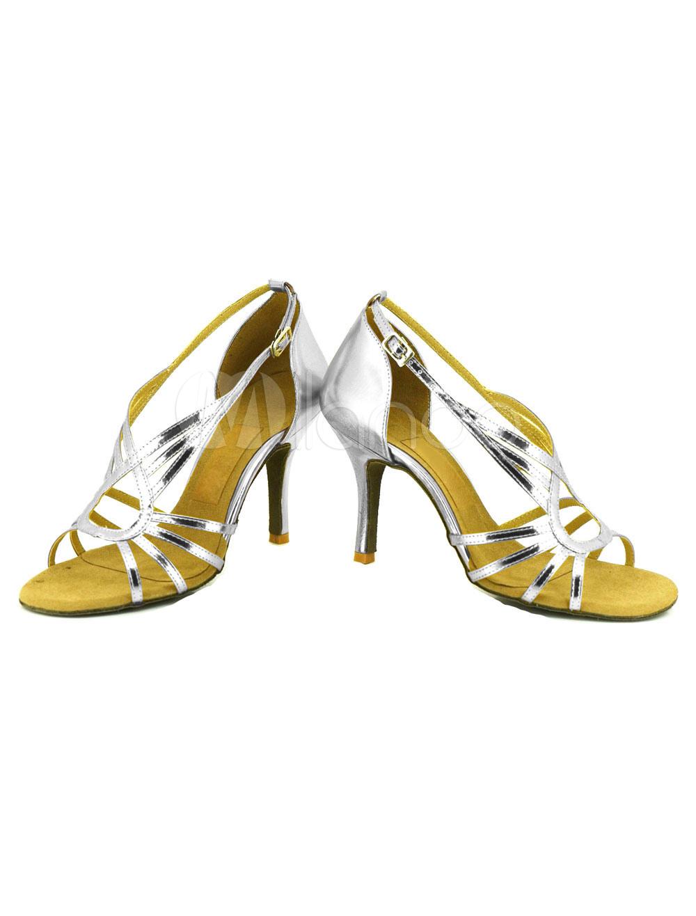 Zapatos de bailes latinos de PU Color liso 2crVmz