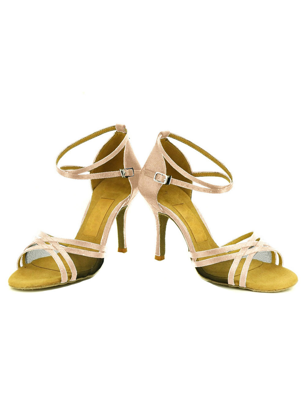 Zapatos de bailes latinos color liso a medidas X9D34nbcN