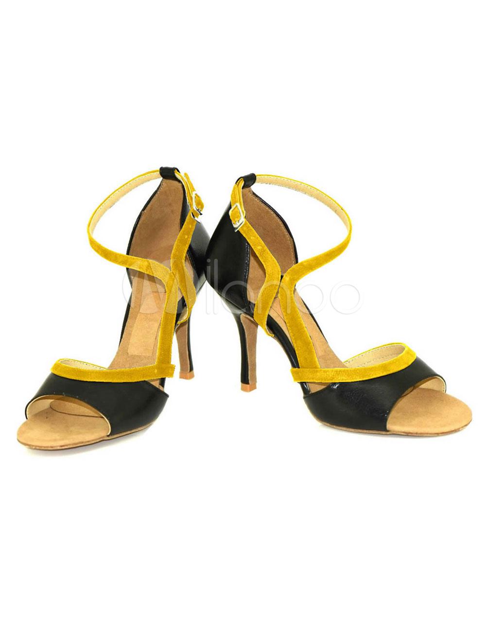 negro salón tacón 3 Nubuck hebilla zapatos personalizado No Baile de zapatos wxOZqdU6w