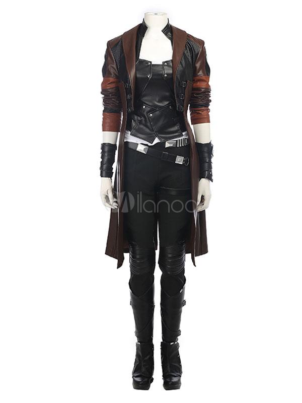 2018 Guardians Of The Galaxy 2 Gamora Halloween Cosplay Costume Halloween