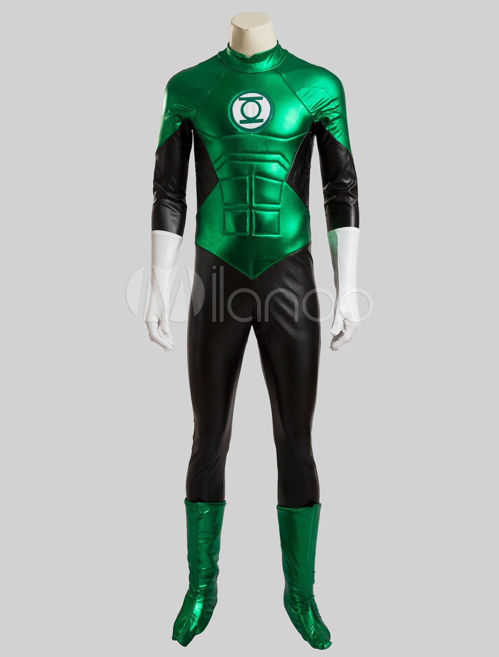 Buy Green Lantern Hal Jordan Halloween Cosplay Costume DC Comics Cosplay Costume Halloween for $205.99 in Milanoo store