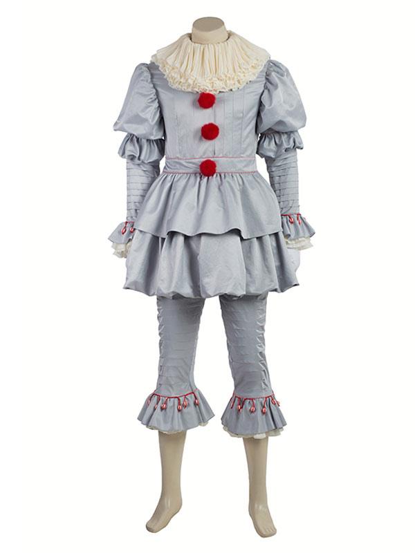 Costume di Cosplay Carnevale di Pennywise di Stephen King Carnevale-No.1 ... 1b8d1134125