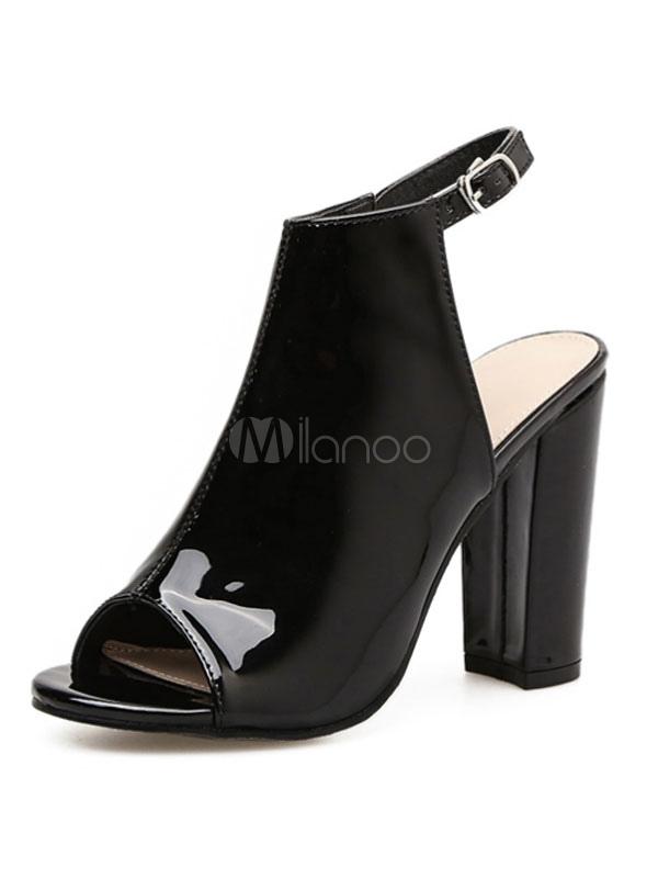 Buy High Heel Sandals Apricot Peep Toe Slingbacks Sandal Booties Women Shoes for $33.24 in Milanoo store