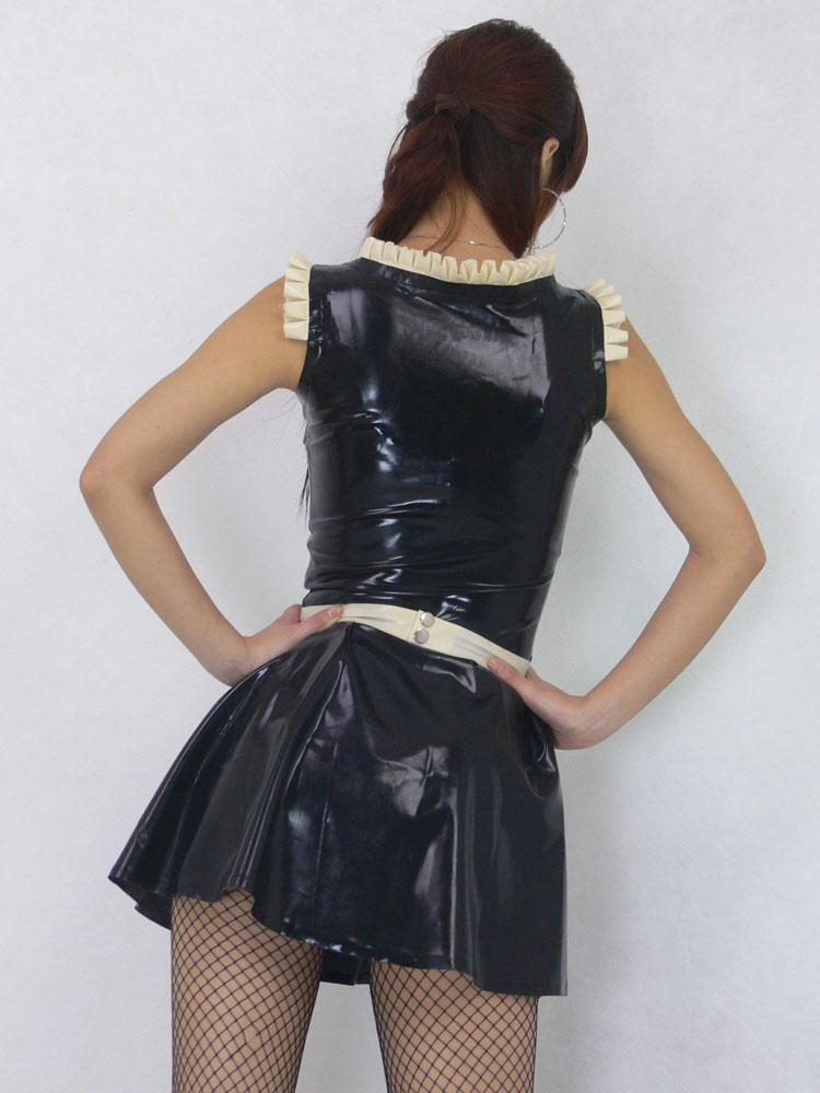 Maid Latex Costume Adults Unisex Sexy Costume Milanoo Com