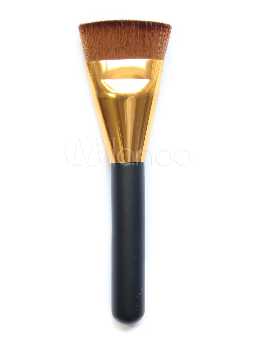 Women Makeup Brushes Wood Brownish Black Beauty Brush