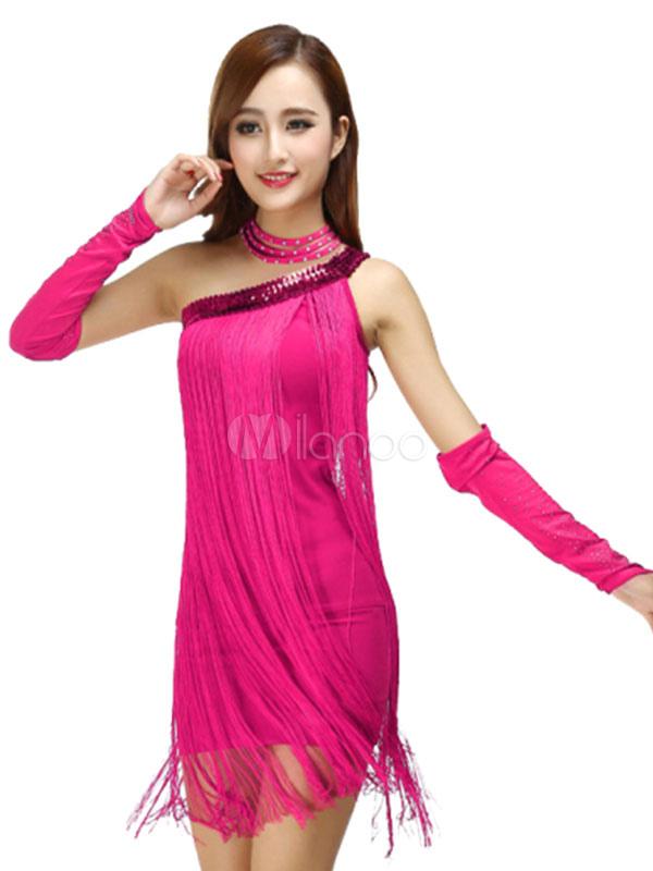 12fc31aed6b2 Costumi da ballo latino americano interpretazione per adulti monocolore  ballerino Latino abito lycra spandex -No ...