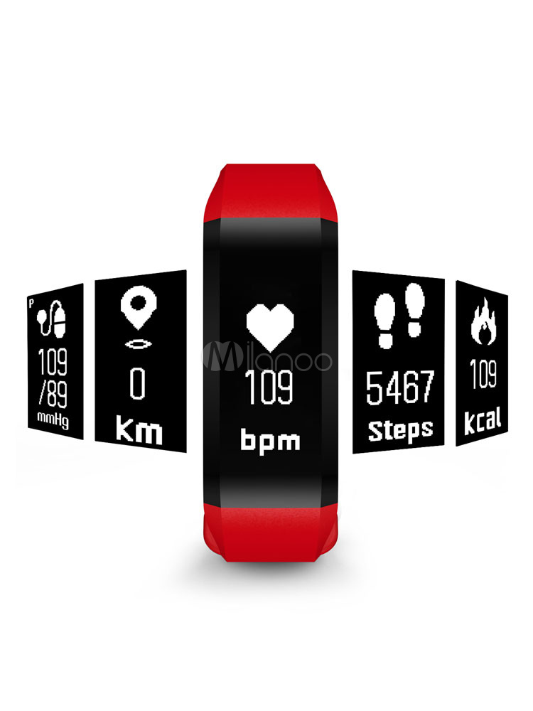 Smart Band Watch Sleep Track Heart Rate Blood Pressure Fitness Data Analysis Health Bracelet