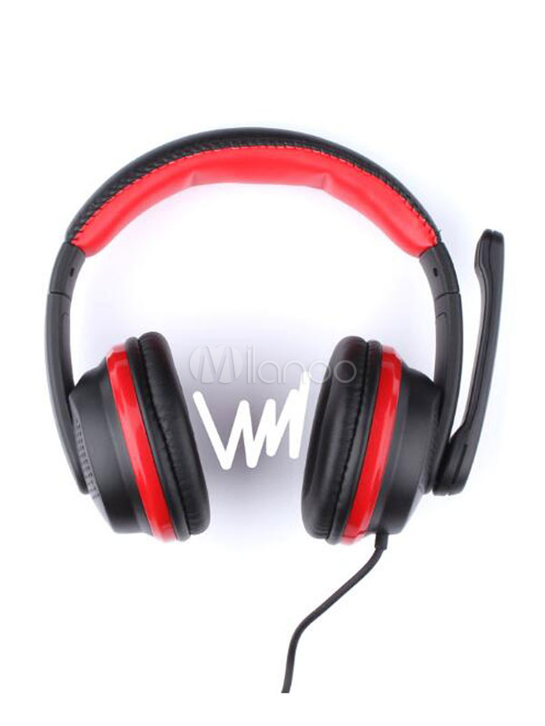 Cool Gaming Headset Mega Bass Stereo Noise Proof Wired Headphone With Mic