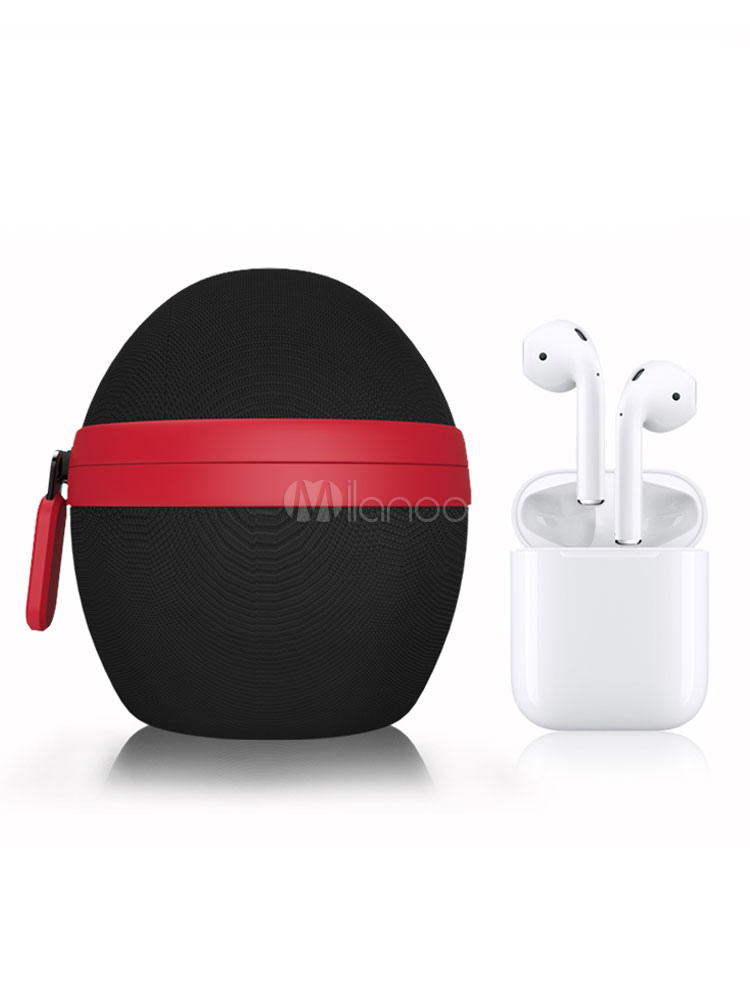 AirPods Protective Shell Waterproof Nylon Color Block Dust Proof ...