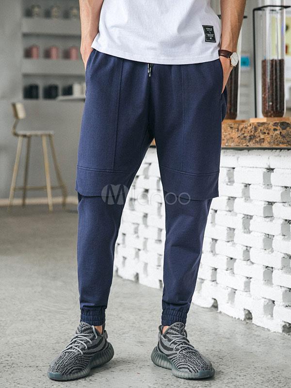 coton pantalon cargo poche pantalon de la cheville sweat pantalon style d contract pour les. Black Bedroom Furniture Sets. Home Design Ideas