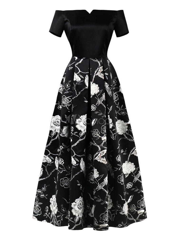 on sale a3668 10a79 Abito da sera vintage plissettato con stampa al ginocchio e abito vintage  vintage anni '50