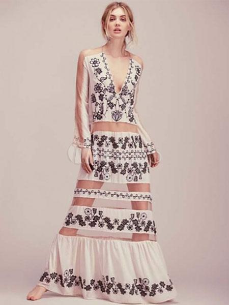 Vestidos verano 2019 blancos