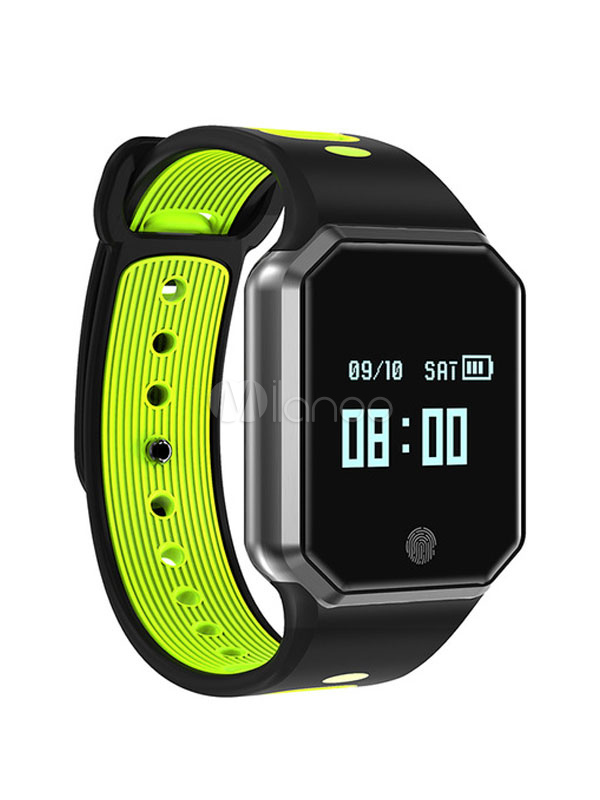 Buy Smart Band Watch IP67 Waterproof Blood Pressure Heart Rate Bluetooth 4.0 Sleep Track Multi Lang Fitness Smart Wearable for $43.19 in Milanoo store