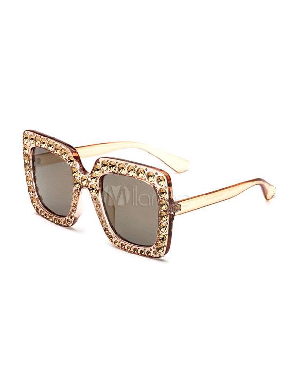Con Cristales De Mujer Sol Gafas Negros Rhinestones 1lKcTFJ