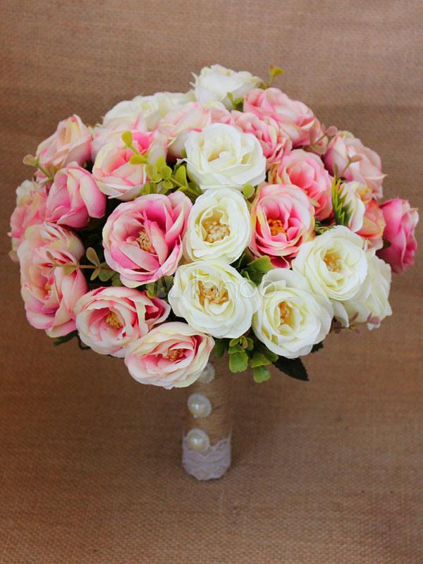 Fiori Da Sposa.Bouquet Da Sposa Bouquet Di Fiori Da Sposa Rosa Milanoo Com