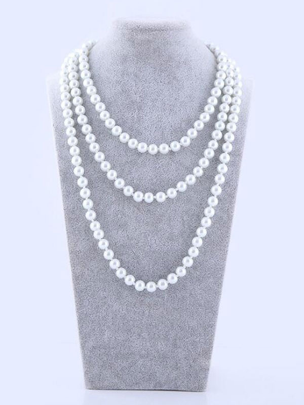 collier perle gatsby