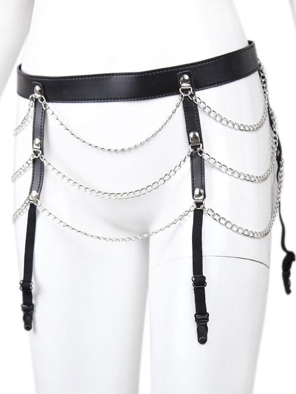 Chastity Belt Women Bondage Adjustable Sexy Female Chains