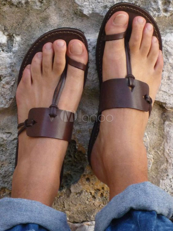 Tan Sandal Slides Women Flat Sandals