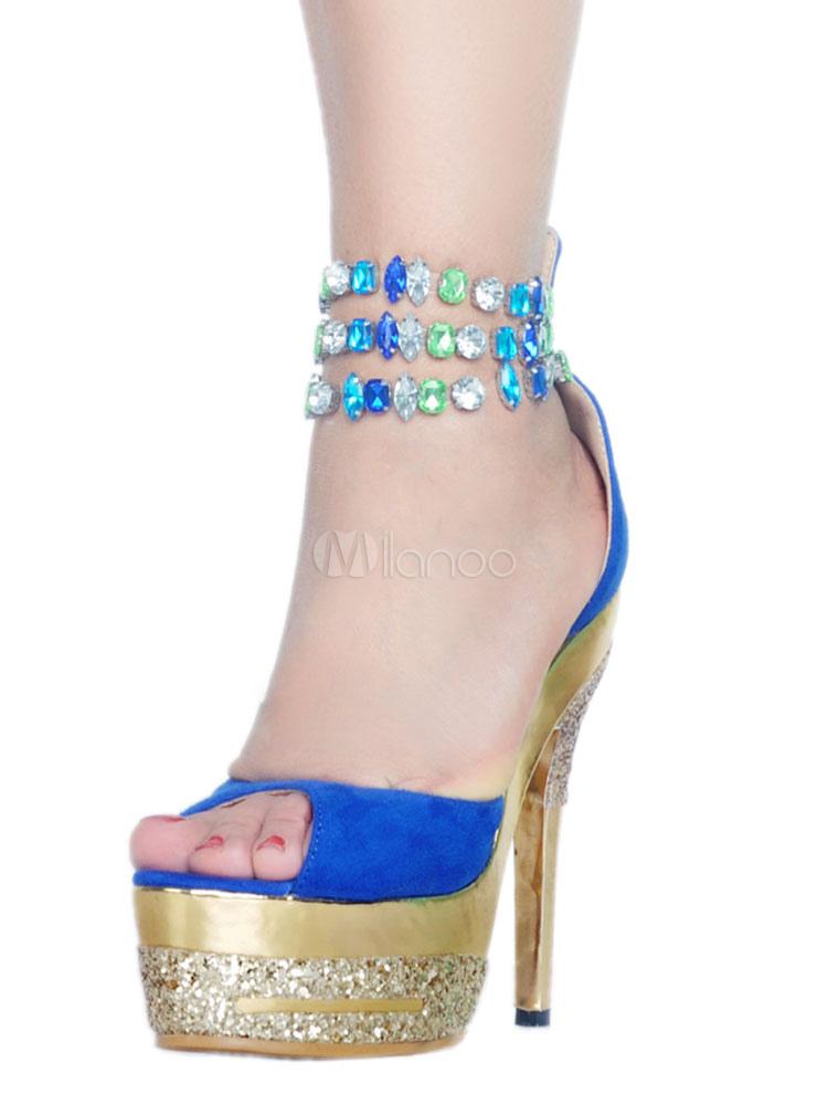 Atractivos Las De Fiesta Mujeres Azules Zapatos 8POk0nw