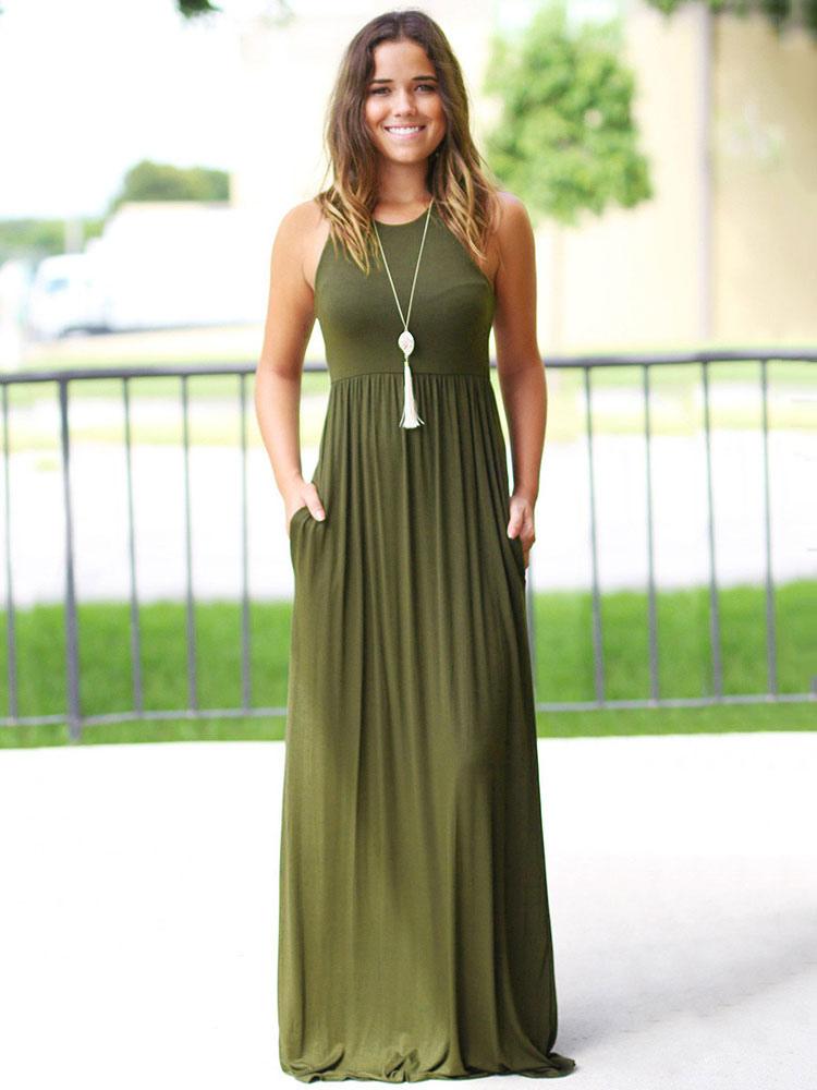 Vestidos largos veraniegos 2019