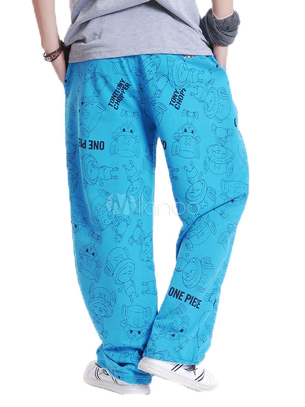 402a7ebd6ec ... Cotton Sweat Pant Plus Size Letter Print Loose Leg Men Track Pant-No.5