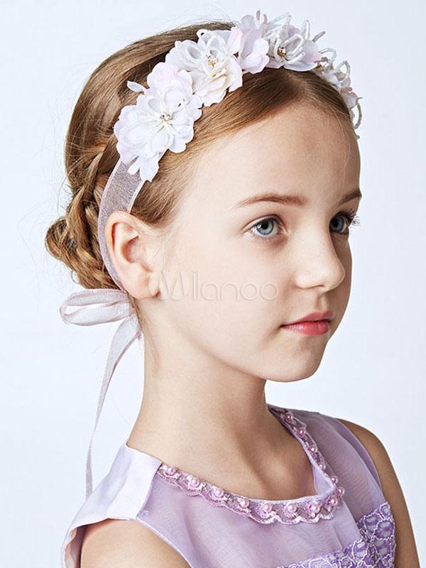 Tocados de niña de las flores Cinta de Lila Diadema Accesorios para el  cabello niñas- ... 2d075c72ee9