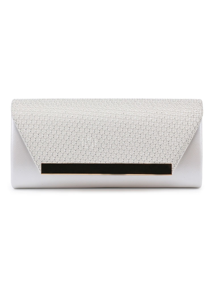 Buy Evening Clutch Bags Envelope Black PU Bridal Wedding Party Handbags for $37.79 in Milanoo store
