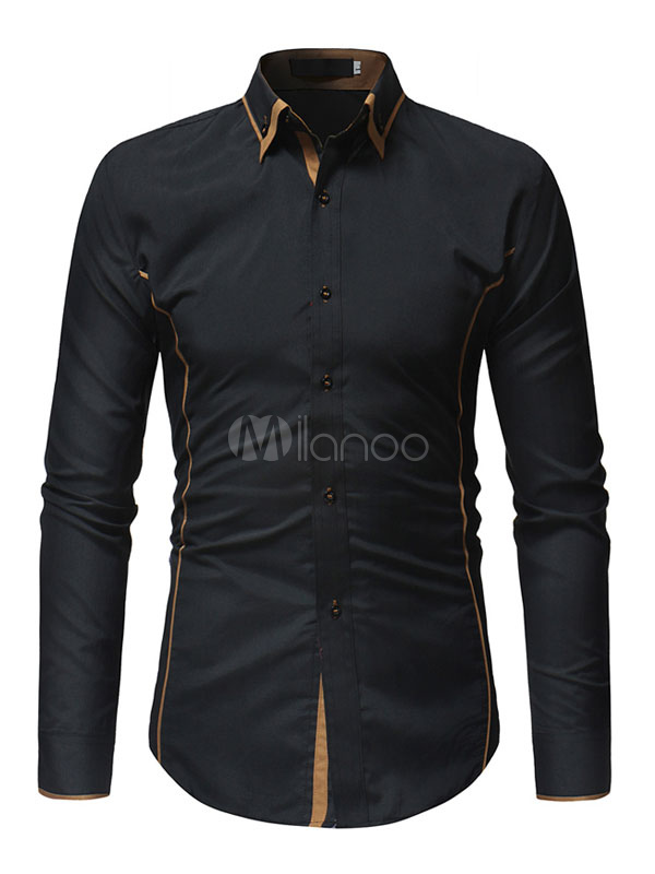Two Tone Dress Shirts For Men