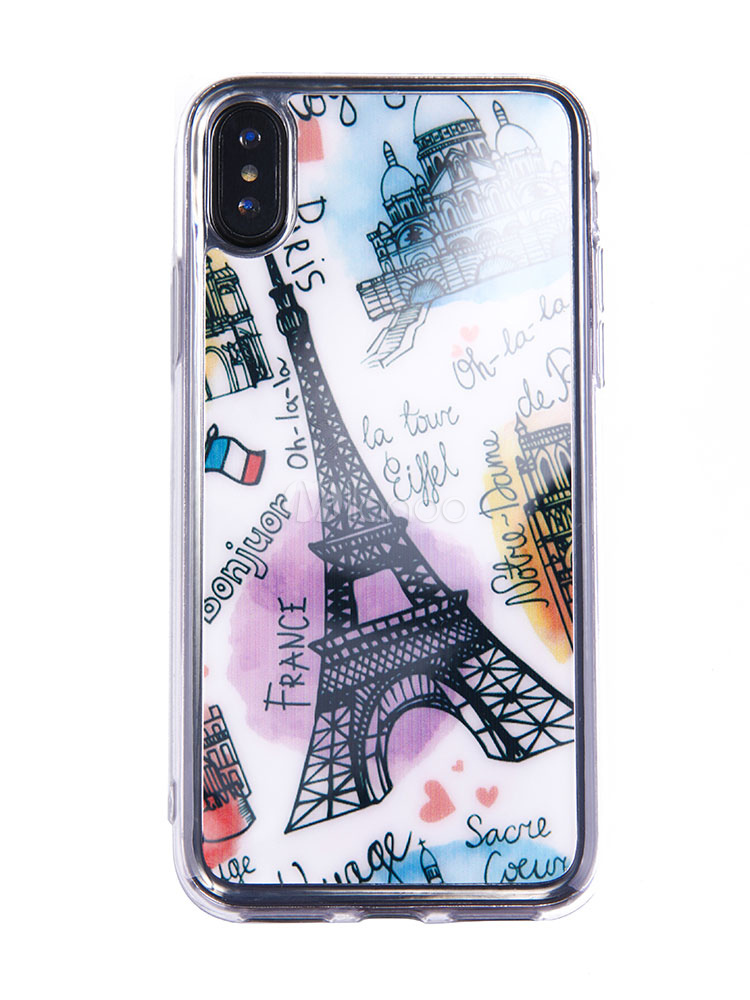 90ae605f88 ... TPU Phone Case Eiffel Tower Puncture Resistant Anti Slip Popsocket IPhone  X IPhone 8 Plus Phone ...