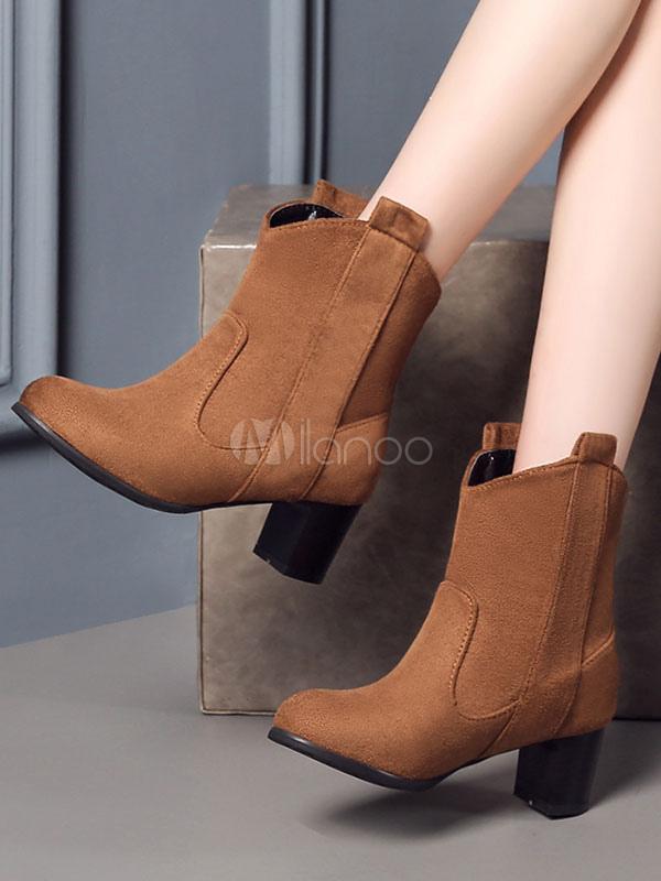 Botas de Ante en punta para De mujer | eBay