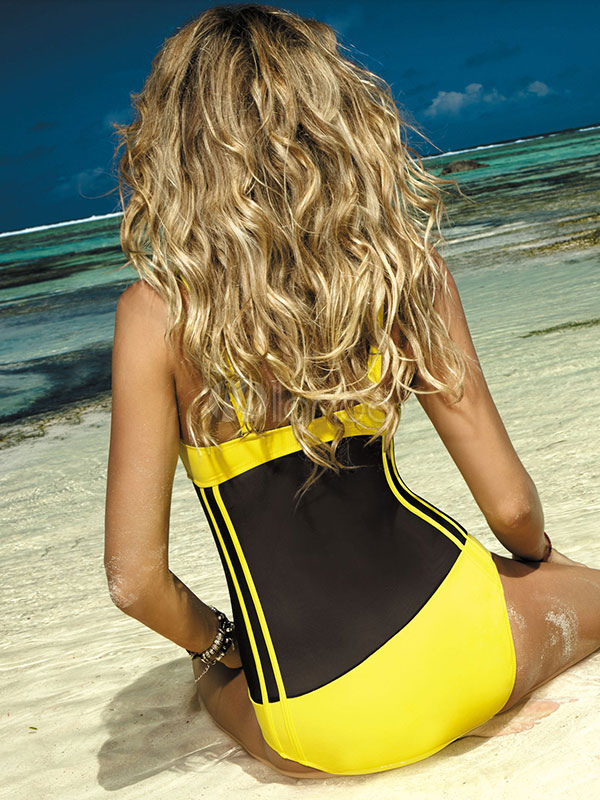 5dae87f8a91cf ... One Piece Bathing Suit Women Strapless Rhinestones Removable Sexy  Swimsuit-No.4
