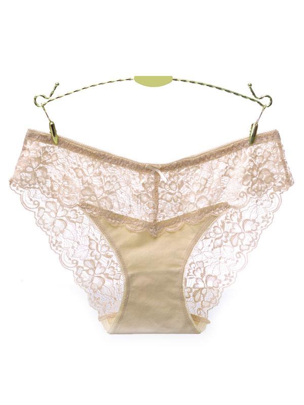 c9d54d495f8 ... Sexy Lace Underwear Sheer Panties Bow Knicker Women Lingerie  Nightwear-No.7 ...