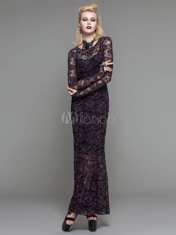 Gothic kleider lang gro handel gothic kleider lang online - Kleider milanoo ...