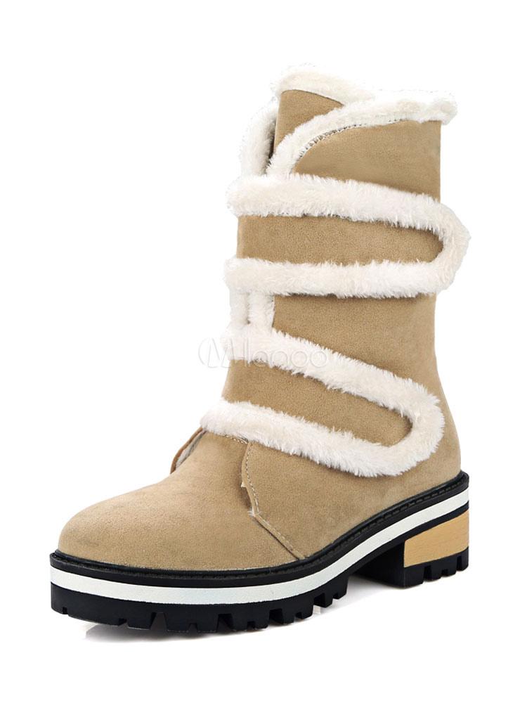 Velcro Donna Kaki Con Stivali Per Chiusura XOwCCq
