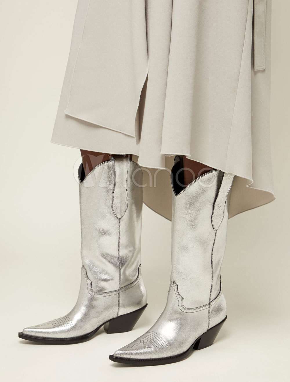 52b5b67155 Botas Vaqueras Para Mujer - Productos de vida inteligente Boda Moda Mujer  Moda Hombre Zapatos Belleza Bisutería   Relojes DISFRACES Eléctronico -  Milanoo. ...